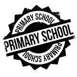 Primary School rubber stamp Royalty Free Stock Images