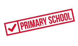 Primary School rubber stamp Royalty Free Stock Image