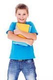 Primary school student Stock Photo