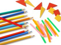 Primary school supply Stock Photos