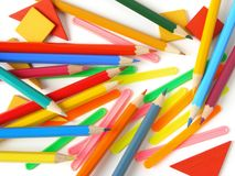 Primary school supply Stock Image