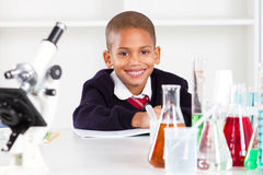 Primary schoolboy Royalty Free Stock Photo