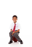 Primary schoolboy Royalty Free Stock Photos
