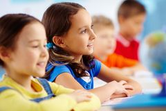 Primary student Stock Image