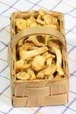 Primas em uma cesta Fotografia de Stock