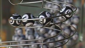 PRIMAT ord för lottobollsmink Realistisk tolkning 3d royaltyfri illustrationer