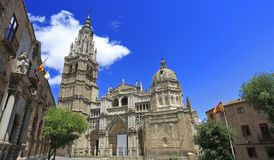 The Primate Cathedral of Saint Mary of Toledo, Spain Royalty Free Stock Photos