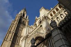 Primate Cathedral of Toledo Stock Photo
