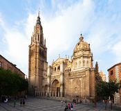 Primate Cathedral of Saint Mary of Toledo. Spain Royalty Free Stock Image