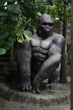 Primate negro grande en el jardín de Nong Nooch imagen de archivo libre de regalías