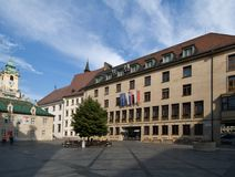 Primates Square in Bratislava Royalty Free Stock Photography