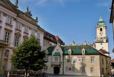 Primates Square in Bratislava Royalty Free Stock Image