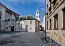 Primates Square in Bratislava Royalty Free Stock Photos