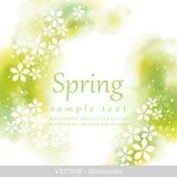 Primavera. ilustración del vector