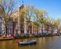 Primavera Amsterdam imagen de archivo libre de regalías