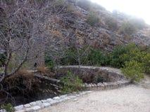 Primavera de agua en las montañas Foto de archivo