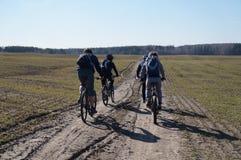 Primavera de la bici Imagenes de archivo