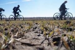 Primavera de la bici Fotografía de archivo libre de regalías