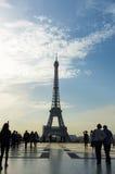 Primavera de la torre de Eifell Imagen de archivo libre de regalías
