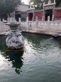 Primavera de Xi'an Confucio claramente imagen de archivo