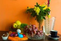 Primavera/decorazione di pasqua Fotografia Stock