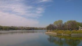 Primavera del lago longtan Foto de archivo libre de regalías