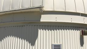 Primavera del observatorio de Brackett almacen de metraje de vídeo