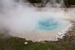Primavera del sílice en Yellowstone Fotografía de archivo