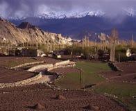 Primavera em Leh, Ladakh Foto de Stock
