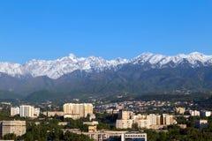Primavera en Almaty foto de archivo libre de regalías