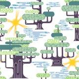 Primavera en bosque del tre Imágenes de archivo libres de regalías