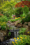 Primavera en el parque de Beacon Hill Fotos de archivo