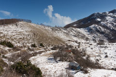 Primavera en el parque nacional Lovcen montenegro Imagen de archivo