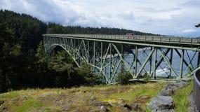 Primavera en el paso del engaño, Washington State, los E.E.U.U. Fotos de archivo