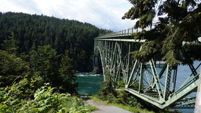 Primavera en el paso del engaño, Washington State, los E.E.U.U. Fotografía de archivo libre de regalías