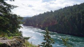 Primavera en el paso del engaño, Washington State, los E.E.U.U. Fotos de archivo libres de regalías