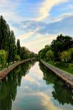Primavera en el río Bega Fotos de archivo