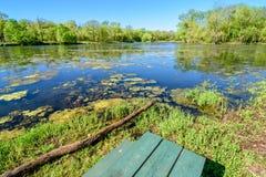 Primavera en Iowa Fotos de archivo libres de regalías