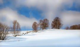 Primavera en las montañas Imagen de archivo libre de regalías