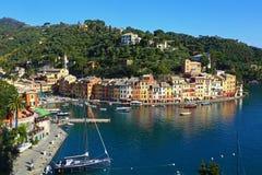 Primavera en Portofino Imagenes de archivo