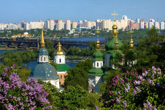 Primavera a Kiev Immagine Stock Libera da Diritti