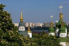 Primavera a Kiev immagine stock