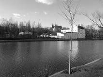 Primavera mágica Praga fotografía de archivo