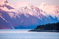 primavera na região selvagem de Alaska Foto de Stock Royalty Free