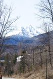 Primavera nel Tatras Immagine Stock