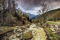 Primavera nelle montagne Fotografie Stock Libere da Diritti