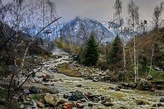 Primavera nelle montagne Fotografia Stock Libera da Diritti