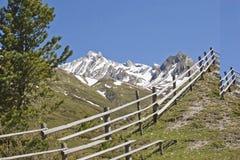Primavera nelle montagne del Tirolo del sud Fotografie Stock Libere da Diritti