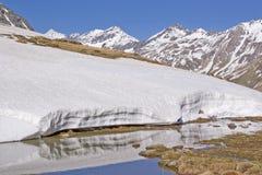 Primavera nelle montagne del Tirolo del sud Fotografia Stock Libera da Diritti