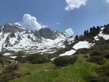 Primavera nelle montagne Tirolo Austria Immagine Stock Libera da Diritti
